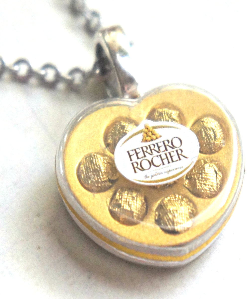 Valentine's Ferrero Rocher Chocolate Necklace - Jillicious charms and accessories - 1
