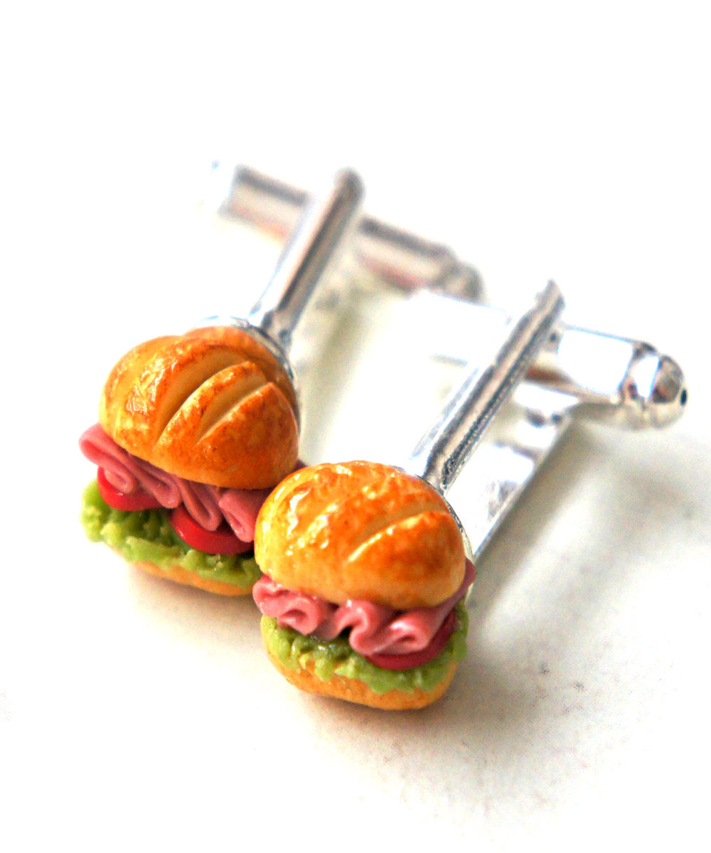 Sub Sandwich Cuff links - Jillicious charms and accessories