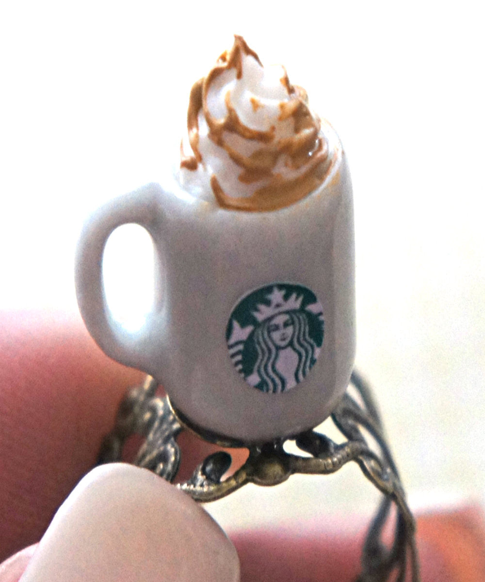 Starbucks Salted Caramel Mocha Ring - Jillicious charms and accessories