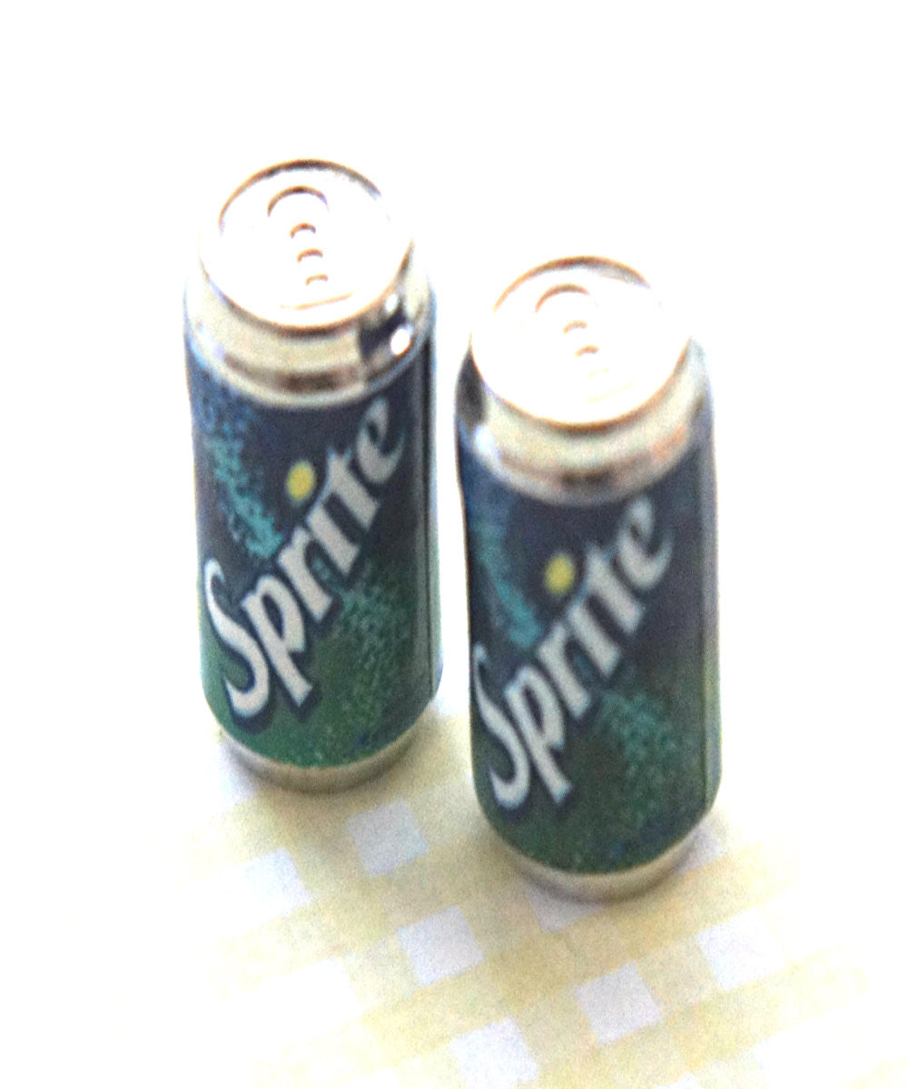 Sprite Soda Can Earrings
