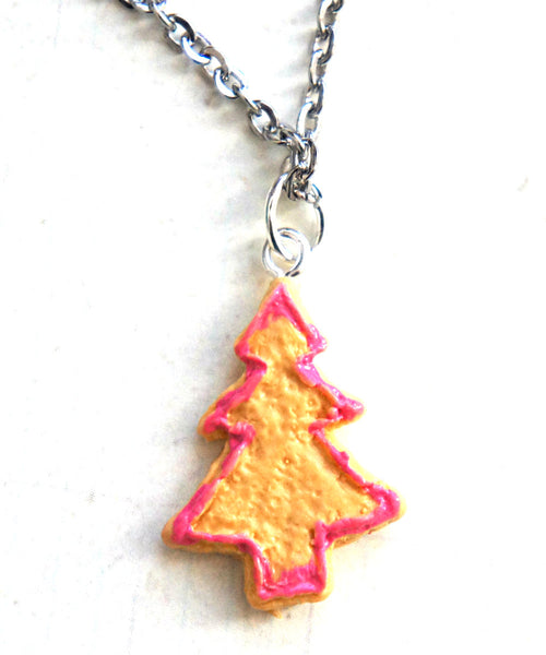 Christmas Tree Cookie Necklace - Jillicious charms and accessories
