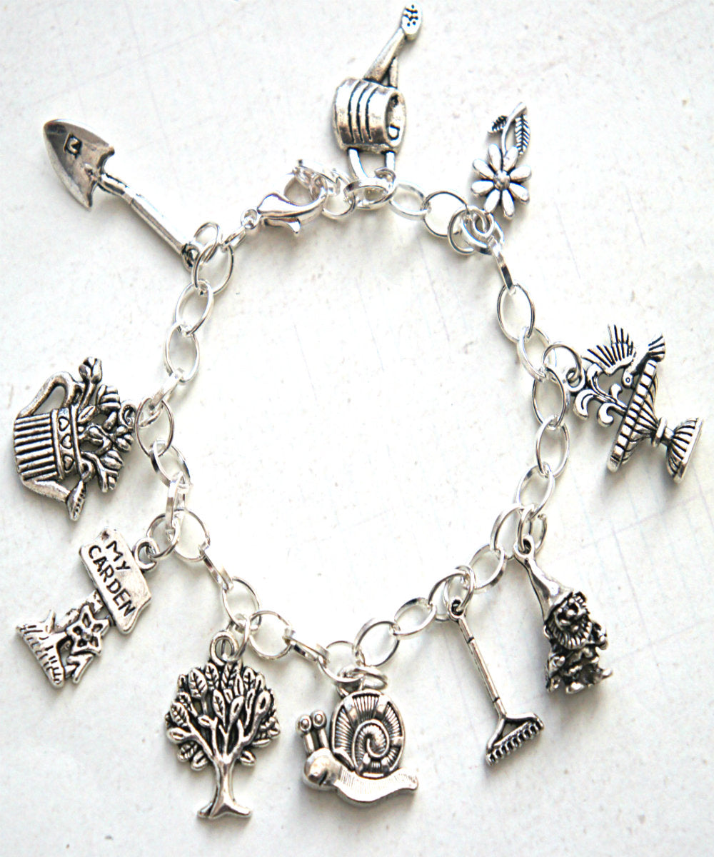 Gardener Inspired Charm Bracelet - Jillicious charms and accessories