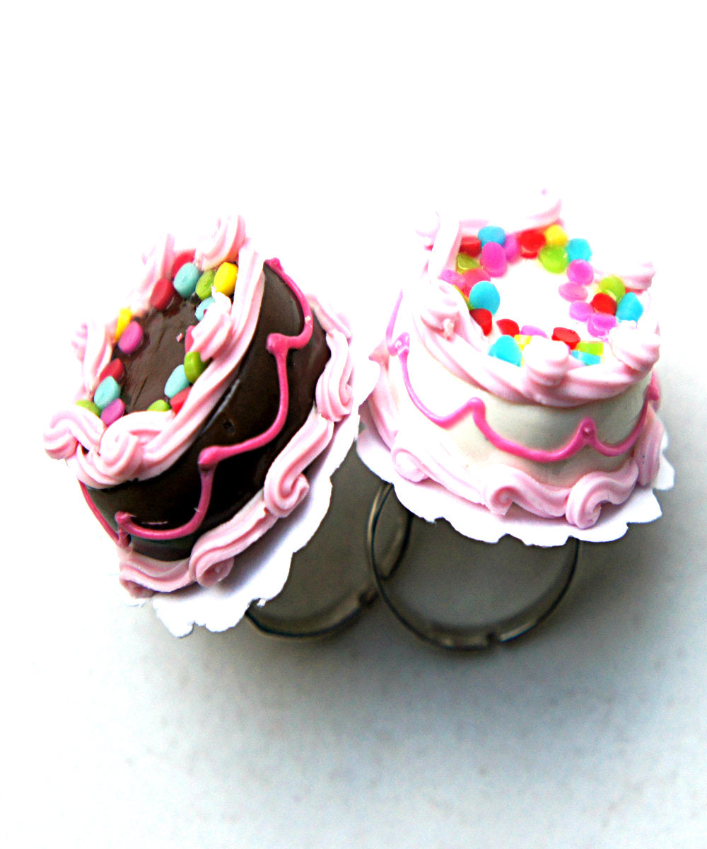 Confetti Cake Ring - Jillicious charms and accessories
