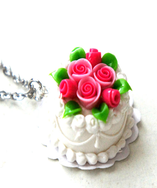 Wedding Cake Necklace - Jillicious charms and accessories