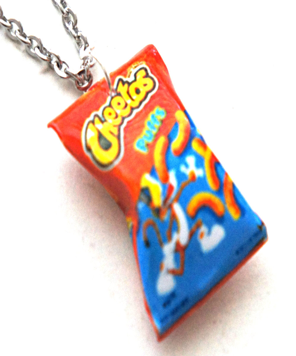 Cheetos Puffs Necklace - Jillicious charms and accessories