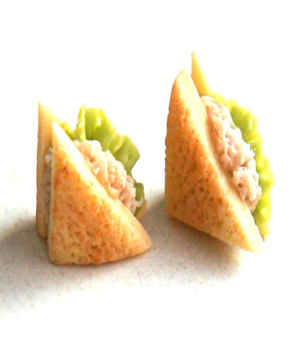 Tuna Sandwich Earrings - Jillicious charms and accessories