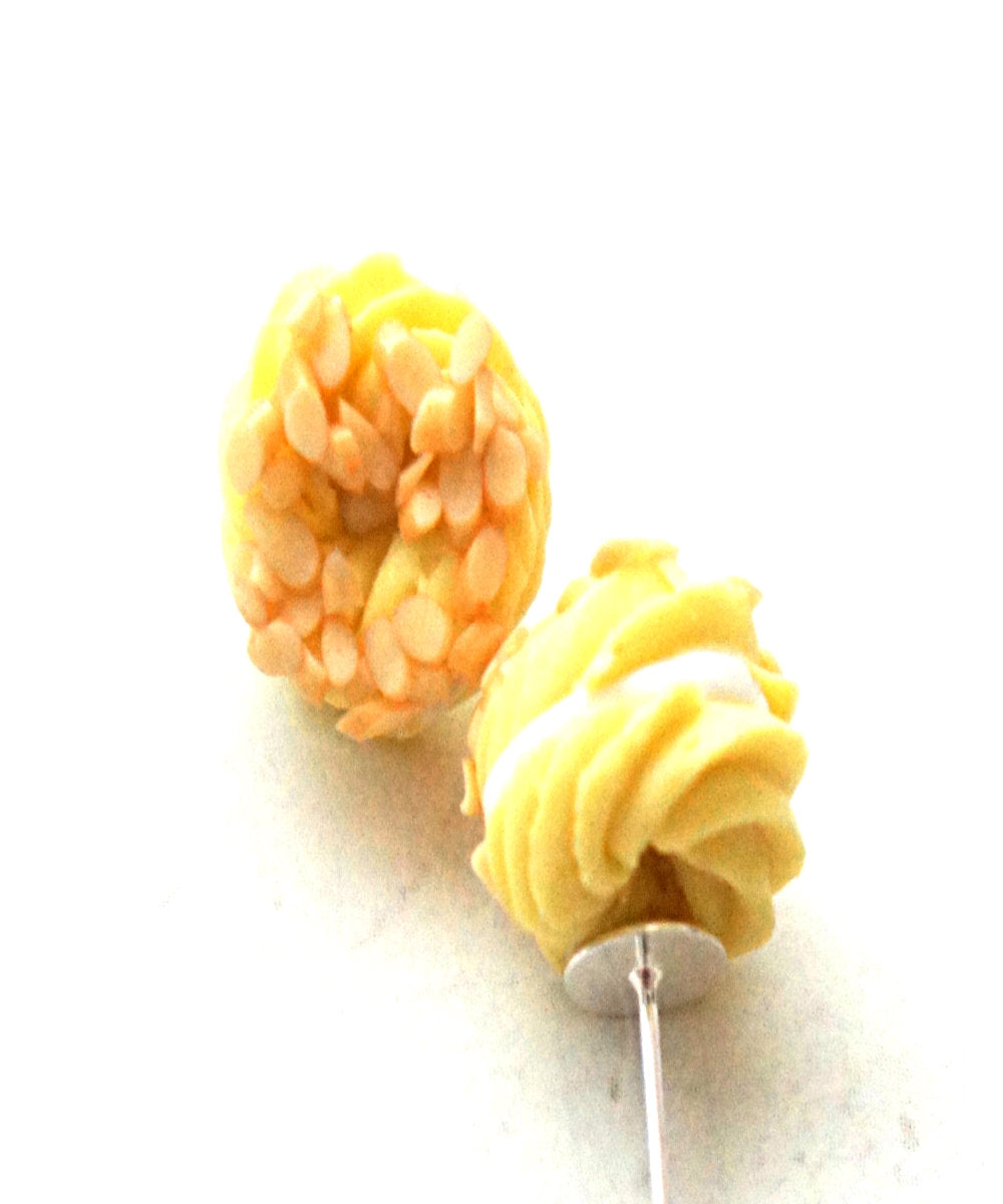 French Cruller Stud Earrings - Jillicious charms and accessories
