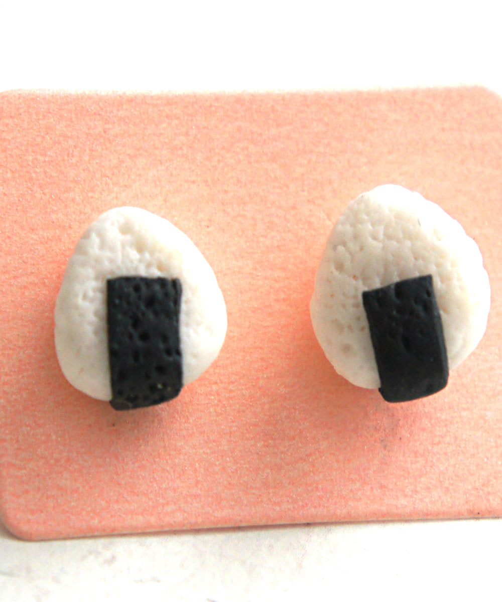 Onigiri Sushi Earrings - Jillicious charms and accessories