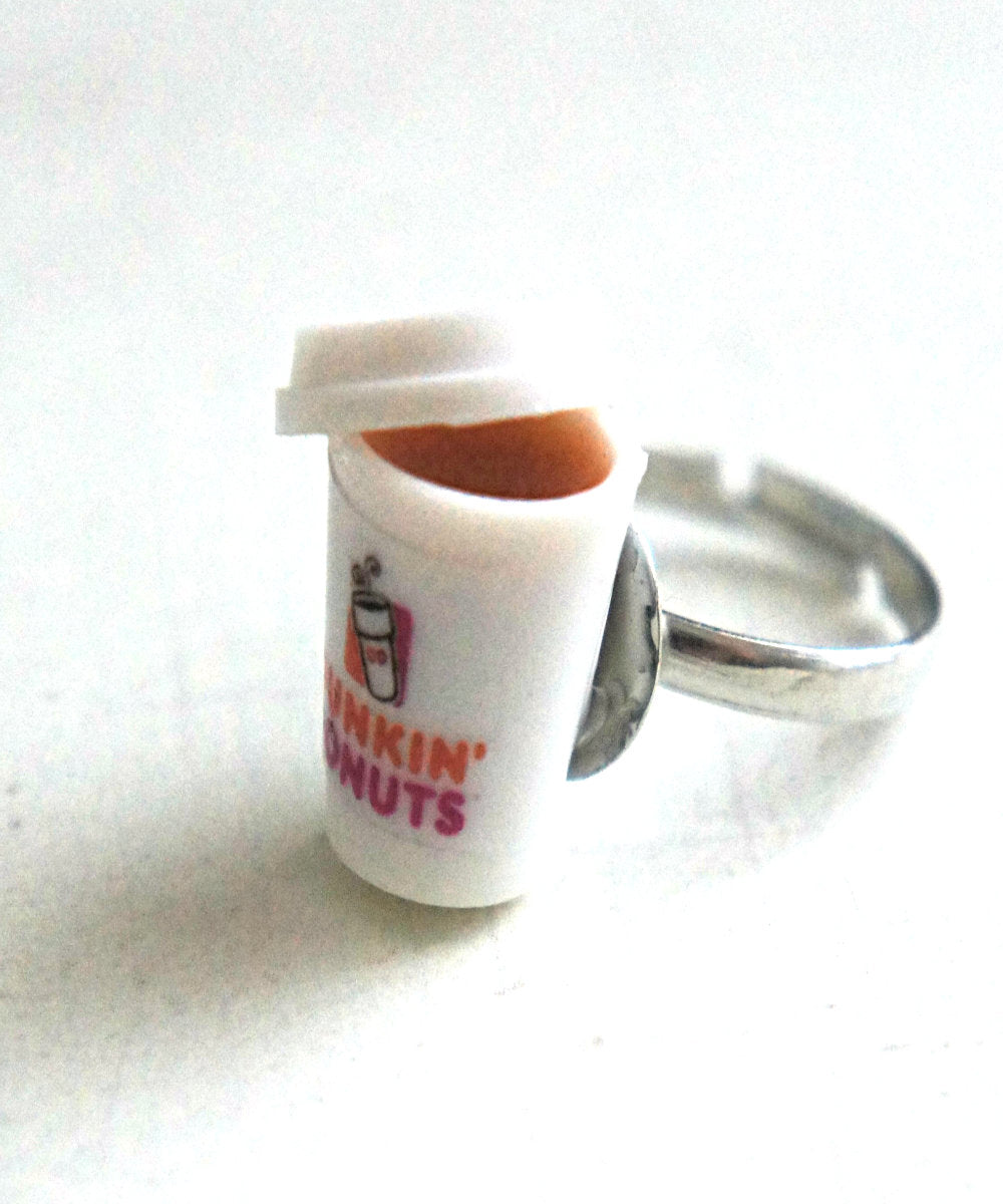 Dunkin Donut's Espresso Ring - Jillicious charms and accessories