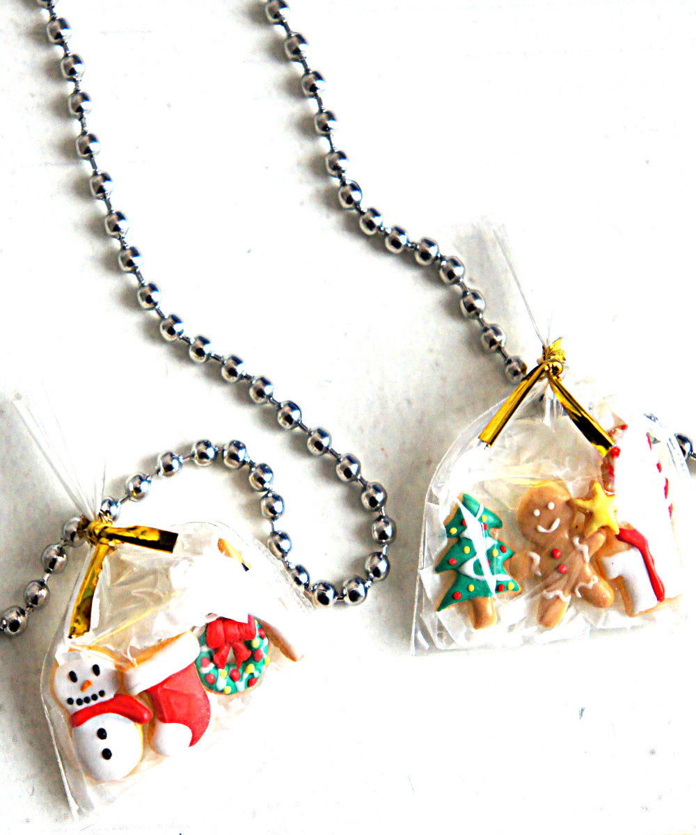 Christmas Cookies Necklace - Jillicious charms and accessories