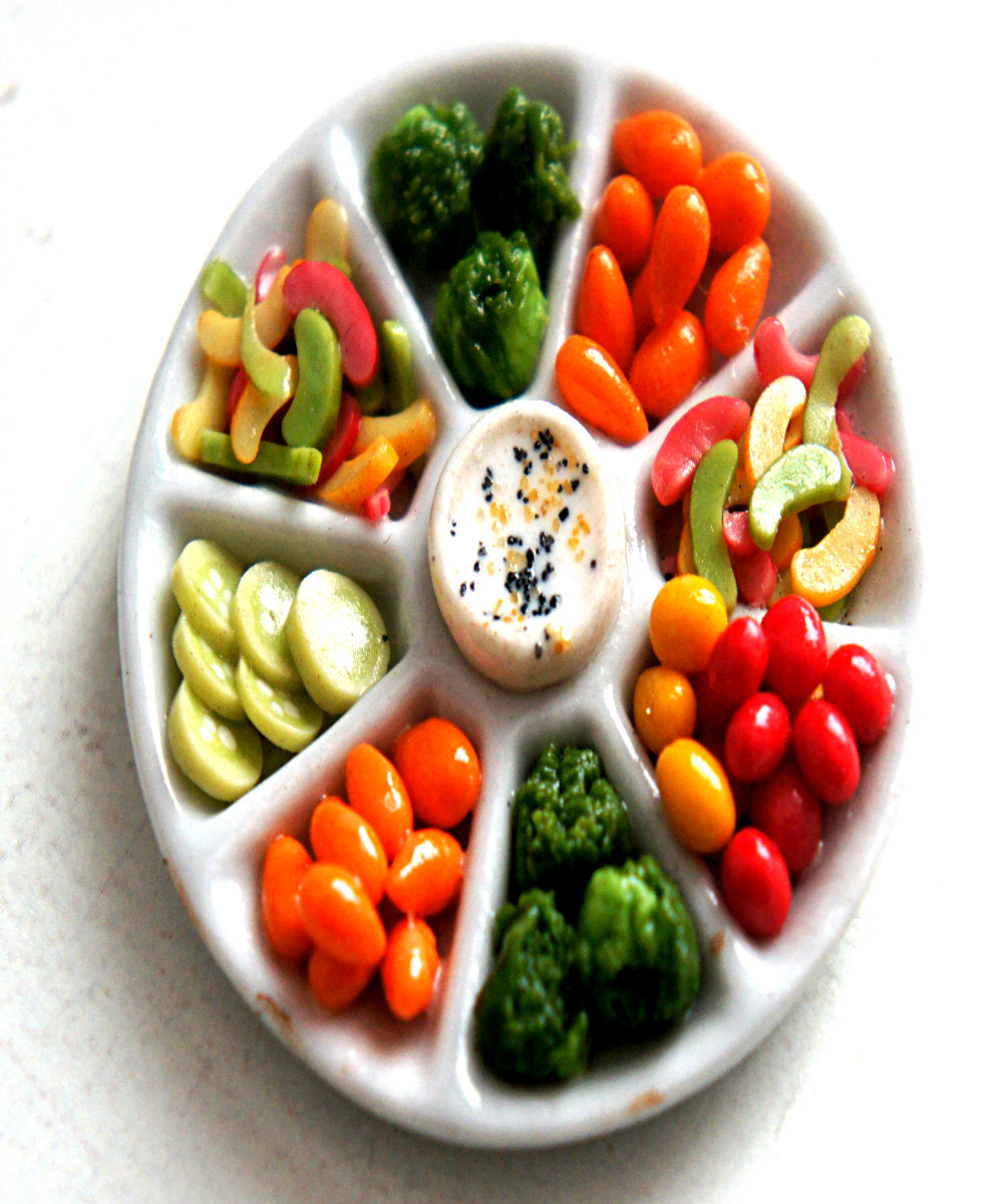 Vegetable Platter Magnet - Jillicious charms and accessories