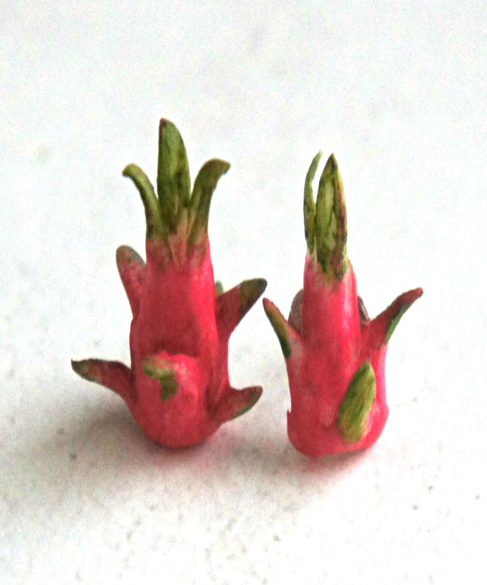 Dragonfruit Stud Earrings - Jillicious charms and accessories