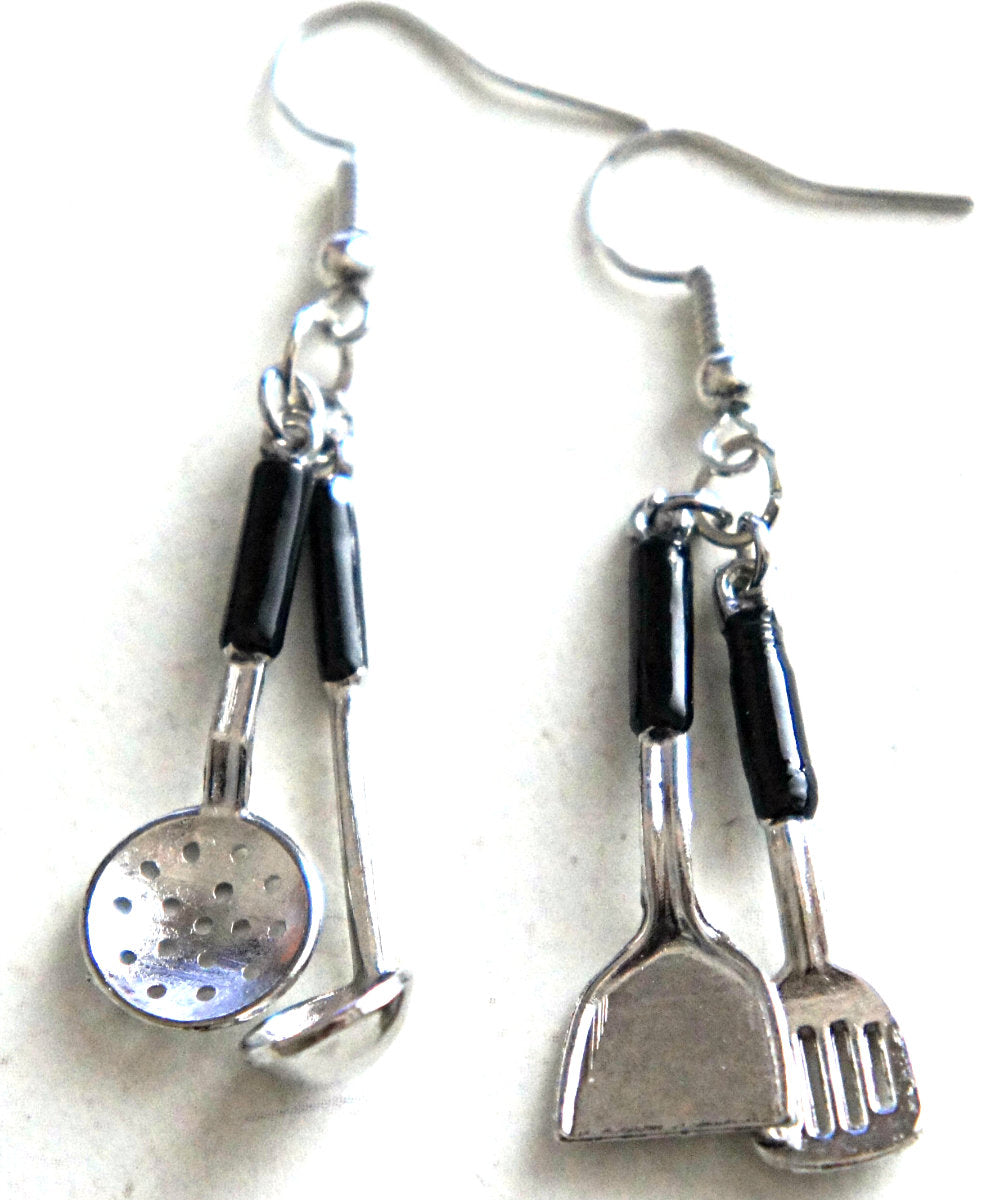 Kitchen Utensils Dangle Earrings - Jillicious charms and accessories