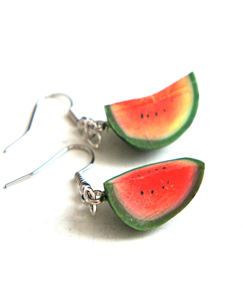 Watermelon Dangle Earrings - Jillicious charms and accessories