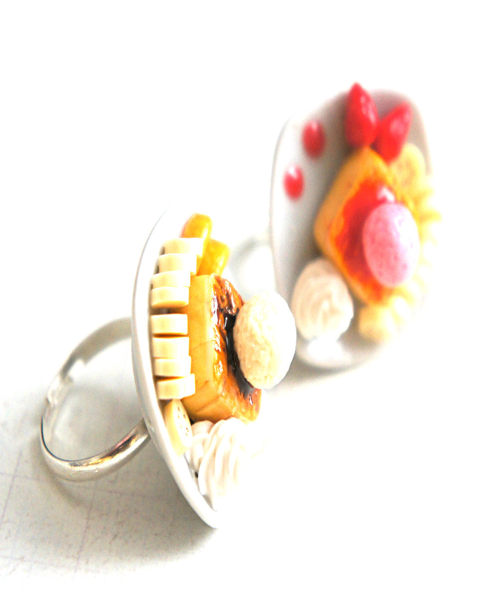 Honey Toast Ring - Jillicious charms and accessories
