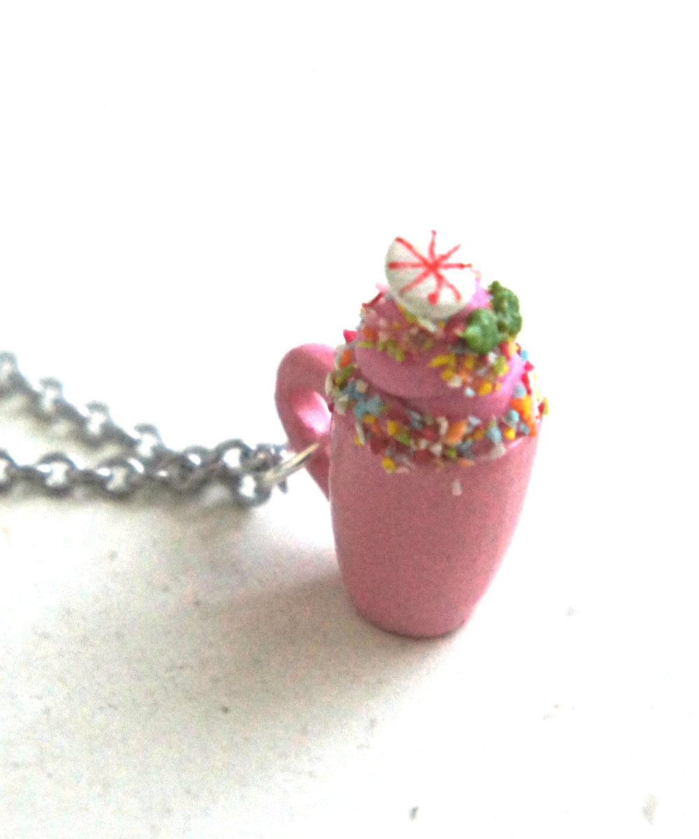 Unicorn Hot Chocolate Necklace - Jillicious charms and accessories