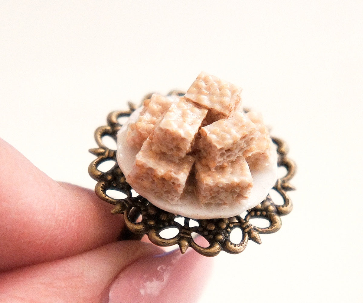 Rice Krispies Ring - Jillicious charms and accessories