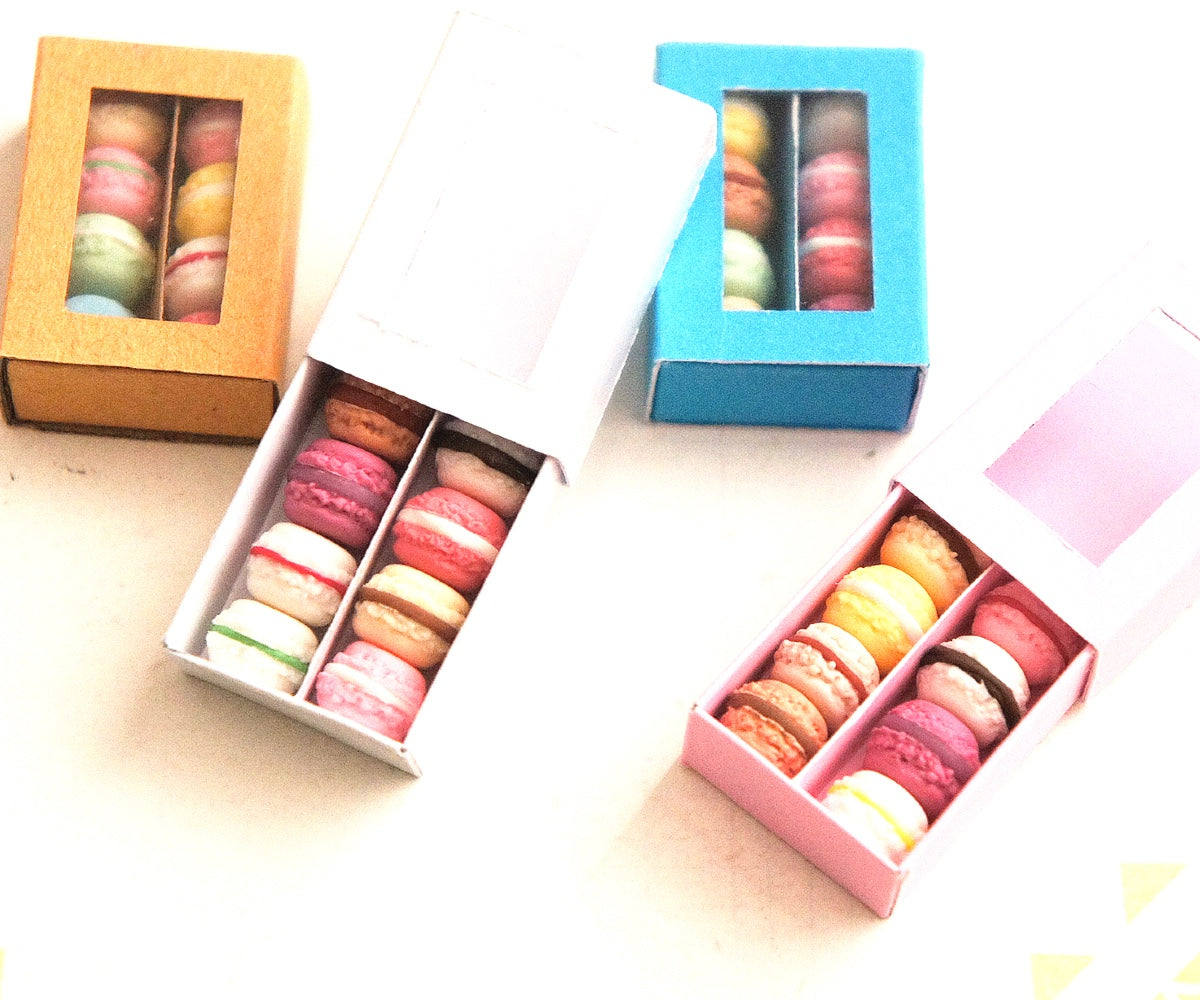 French Macaron Box Ring - Jillicious charms and accessories
