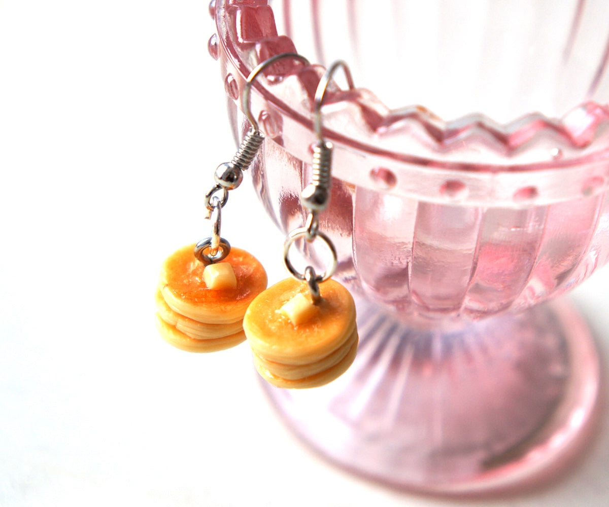 Pancakes Dangle Earrings - Jillicious charms and accessories