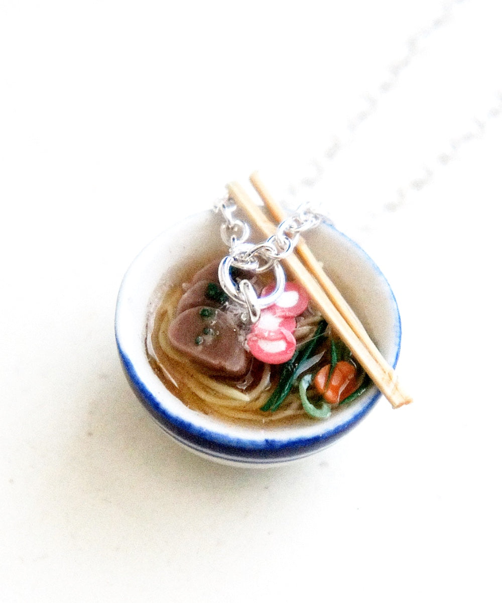 Pho Noodles Necklace