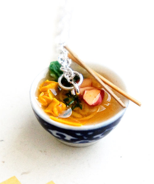Wonton Noodles Soup Necklace
