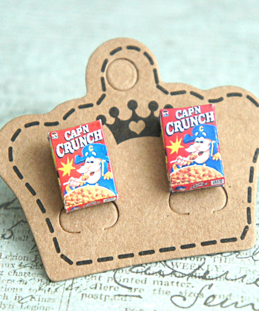 captain crunch cereals earrings - Jillicious charms and accessories