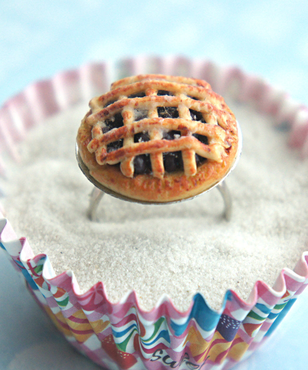 Blueberry Pie Ring - Jillicious charms and accessories - 1