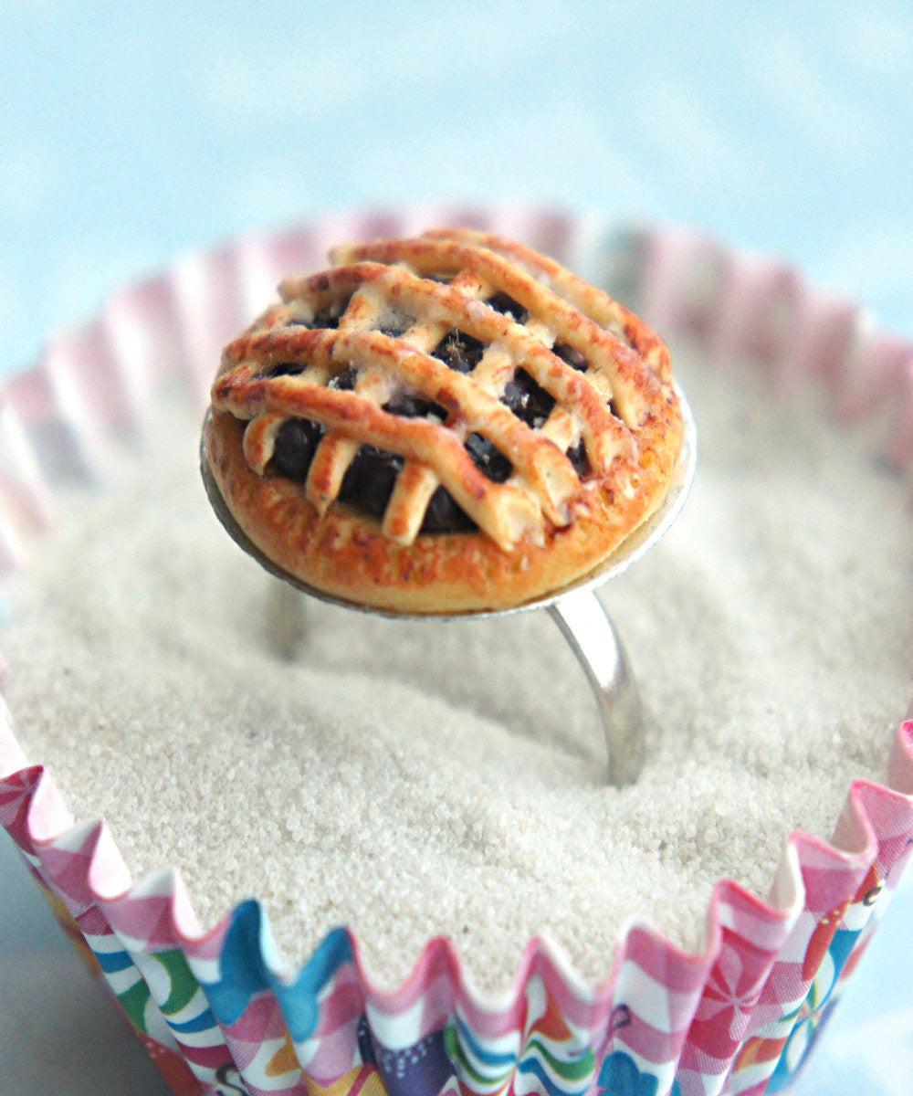 Blueberry Pie Ring - Jillicious charms and accessories - 2