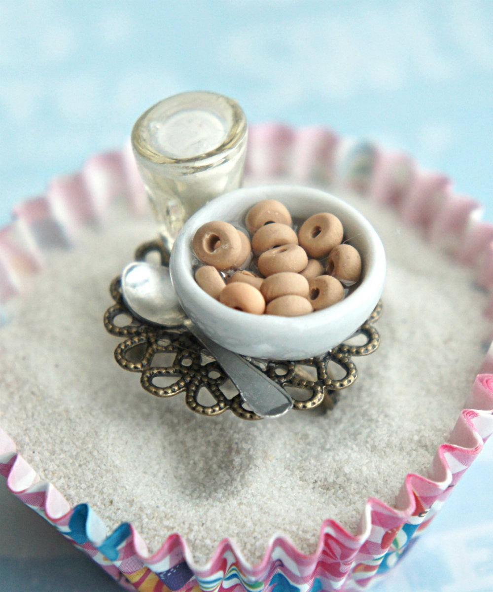 cheerios and milk ring - Jillicious charms and accessories