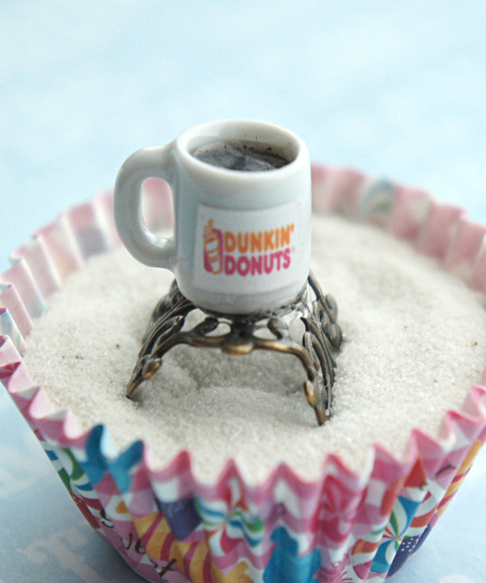 dunkin donut coffee ring - Jillicious charms and accessories