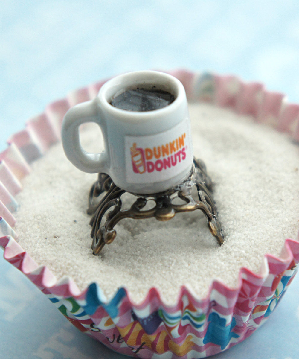 dunkin donut coffee ring - Jillicious charms and accessories - 3