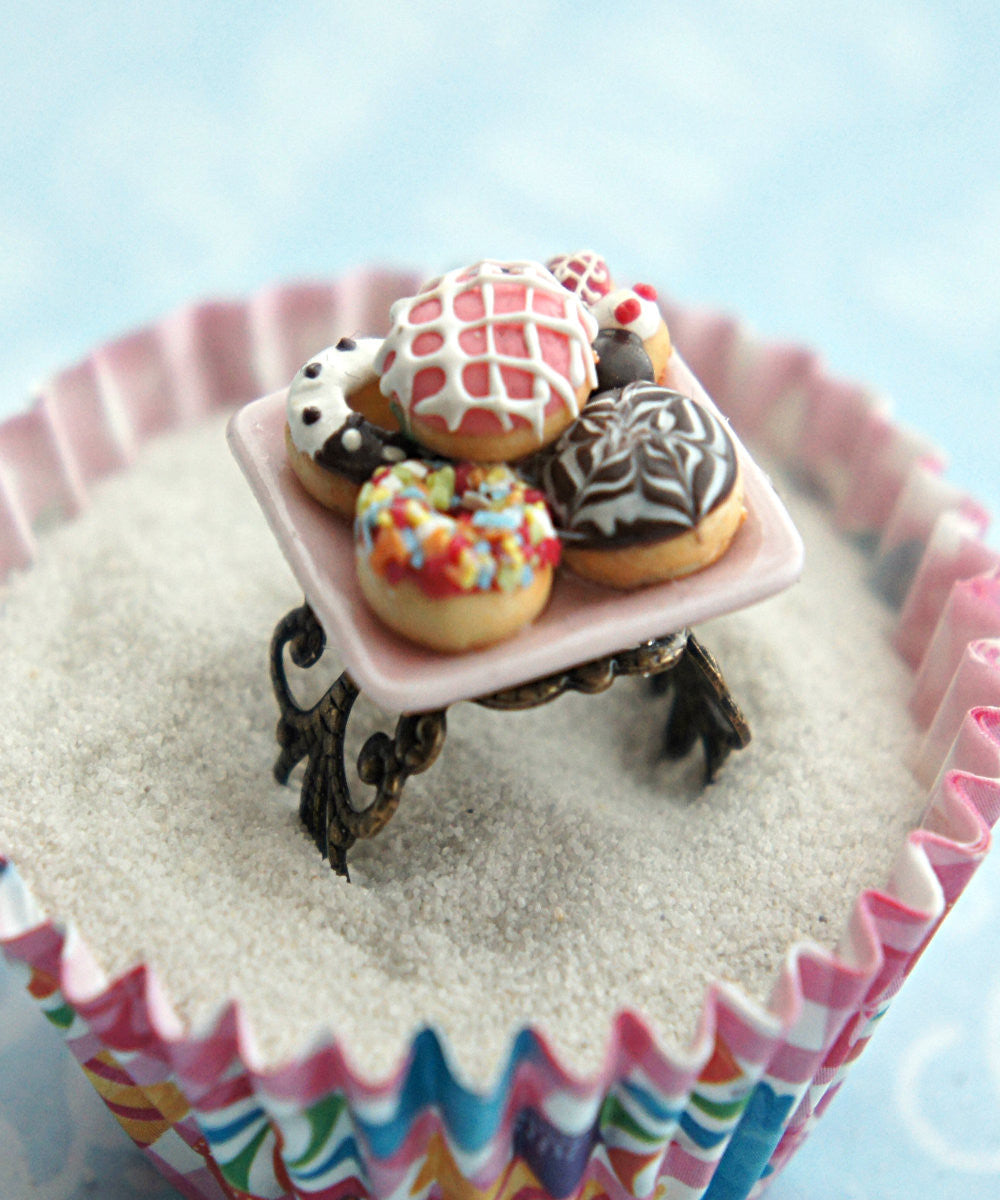 donut sampler ring - Jillicious charms and accessories