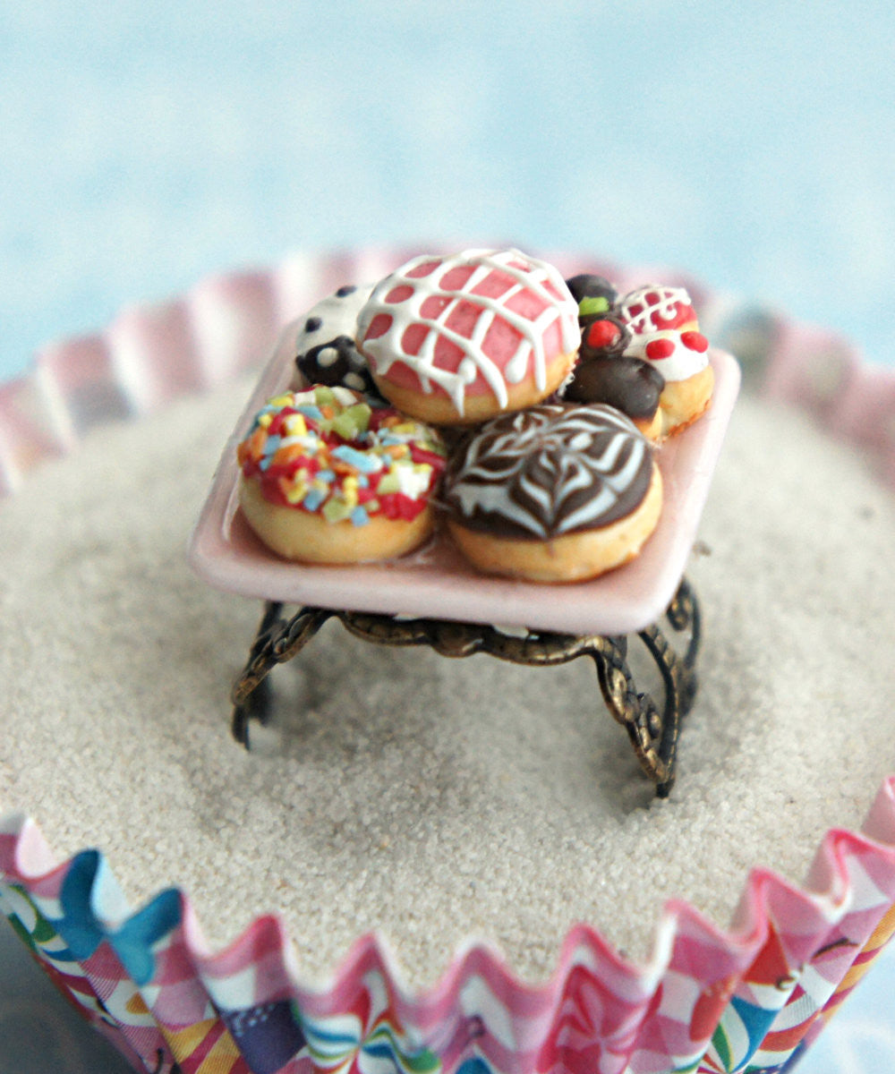 donut sampler ring - Jillicious charms and accessories - 2