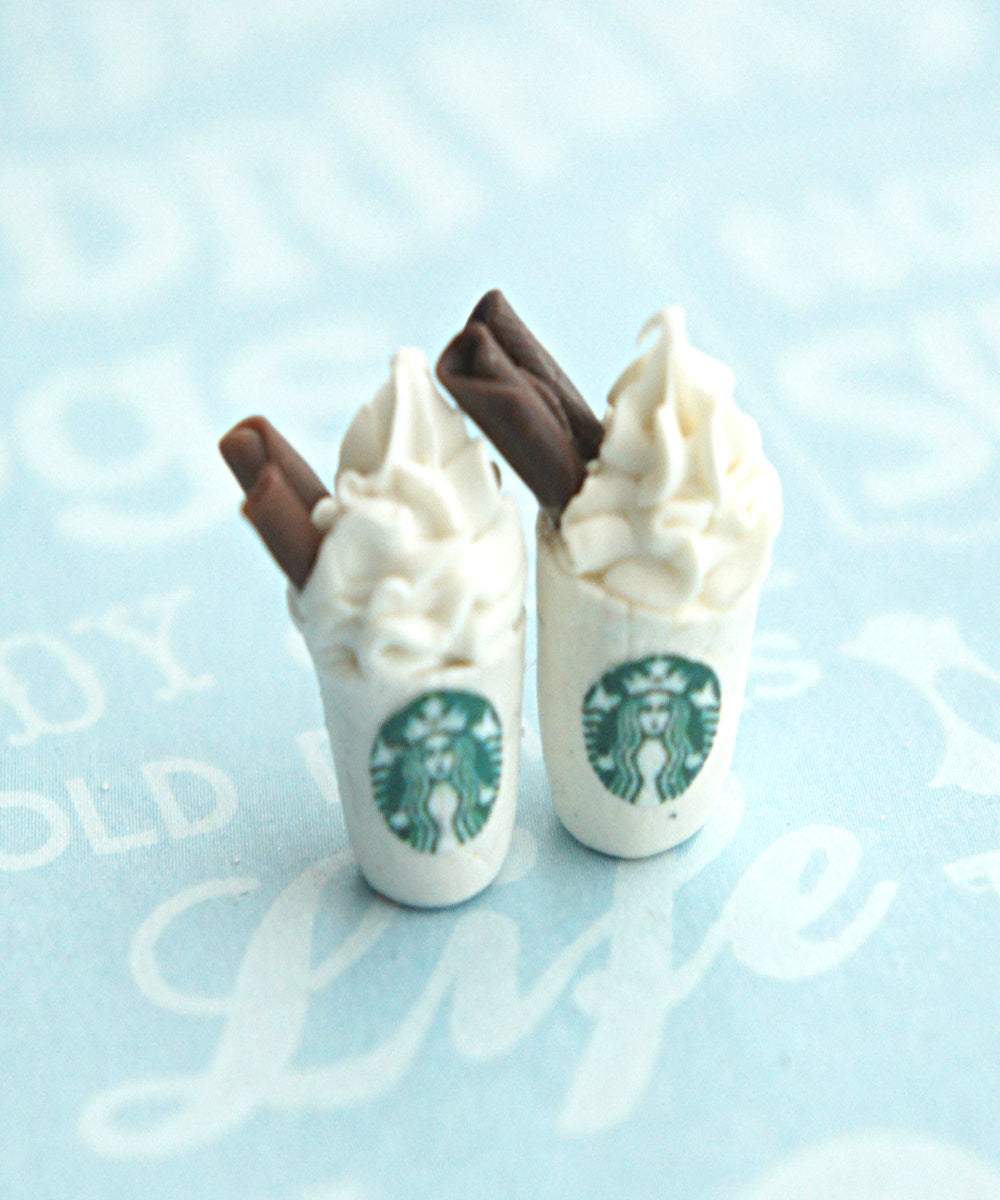 Starbucks Coffee Stud Earrings - Jillicious charms and accessories - 3
