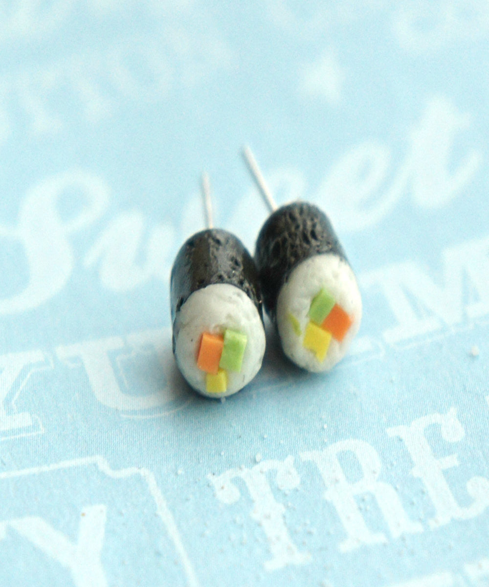 California Maki Sushi Earrings - Jillicious charms and accessories - 3