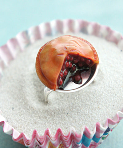 cherry pie ring - Jillicious charms and accessories
