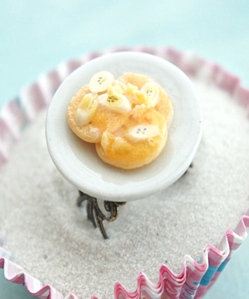Banana Pancakes Ring - Jillicious charms and accessories