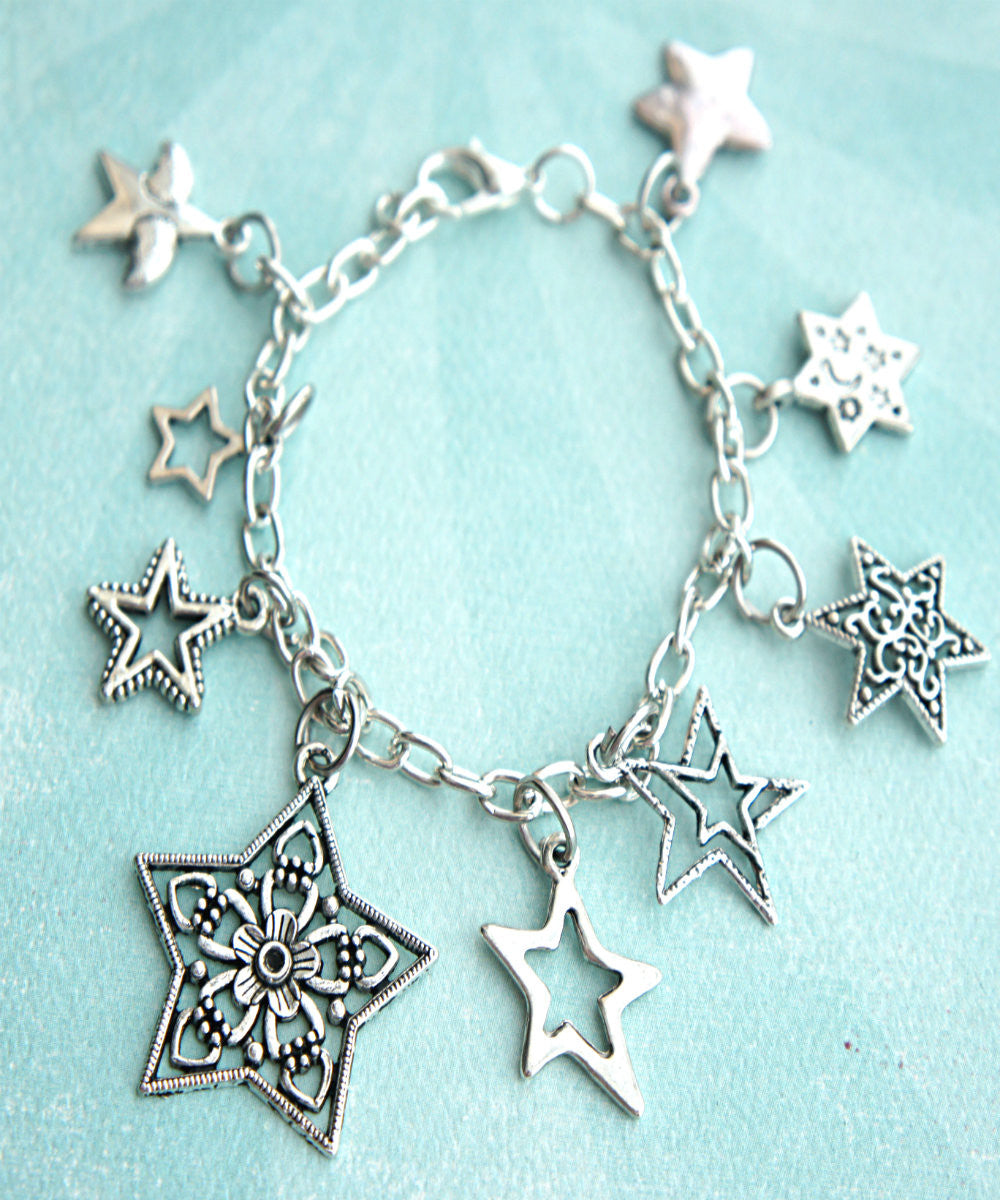 Stars Charm Bracelet - Jillicious charms and accessories - 2