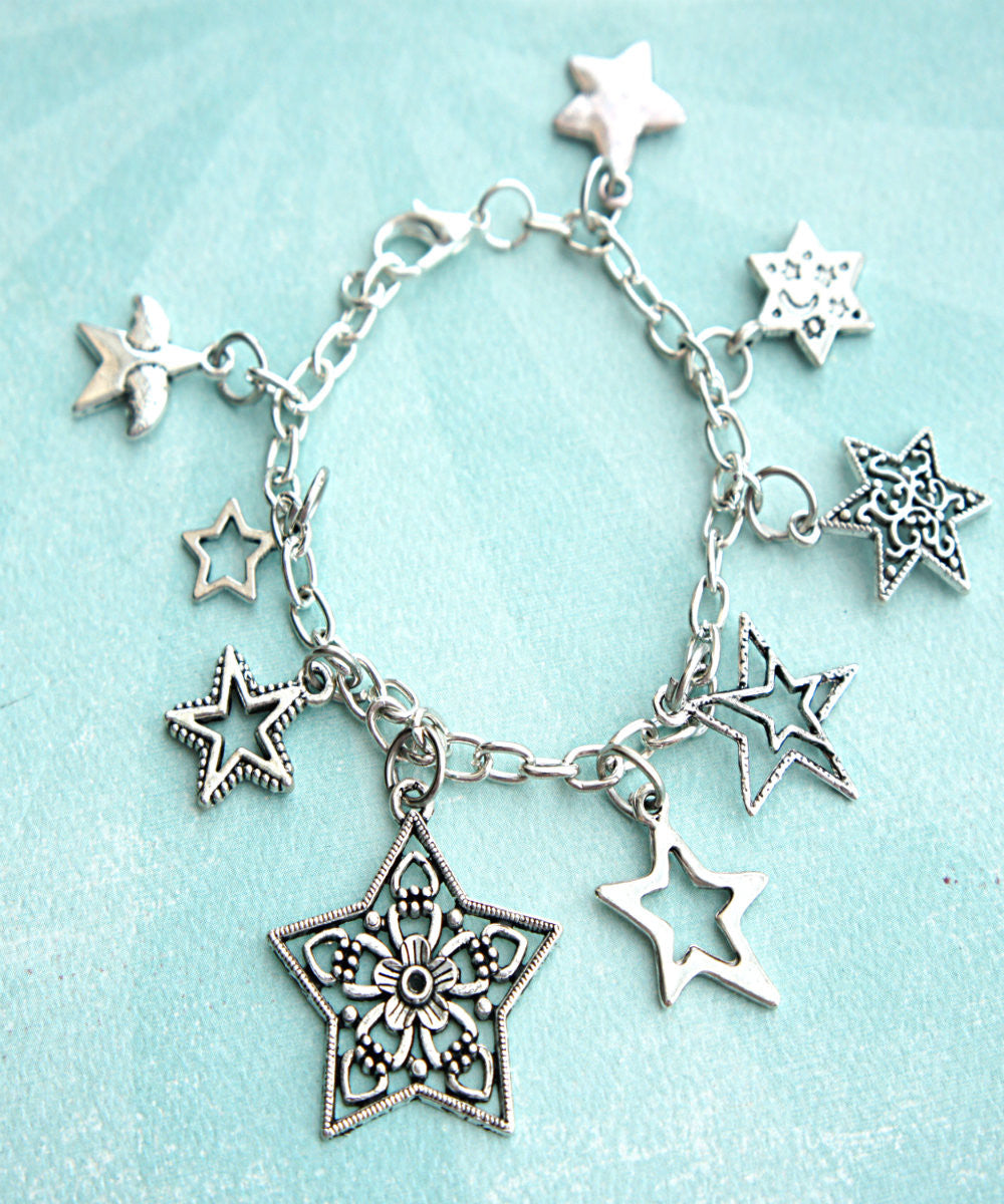 Stars Charm Bracelet - Jillicious charms and accessories - 1