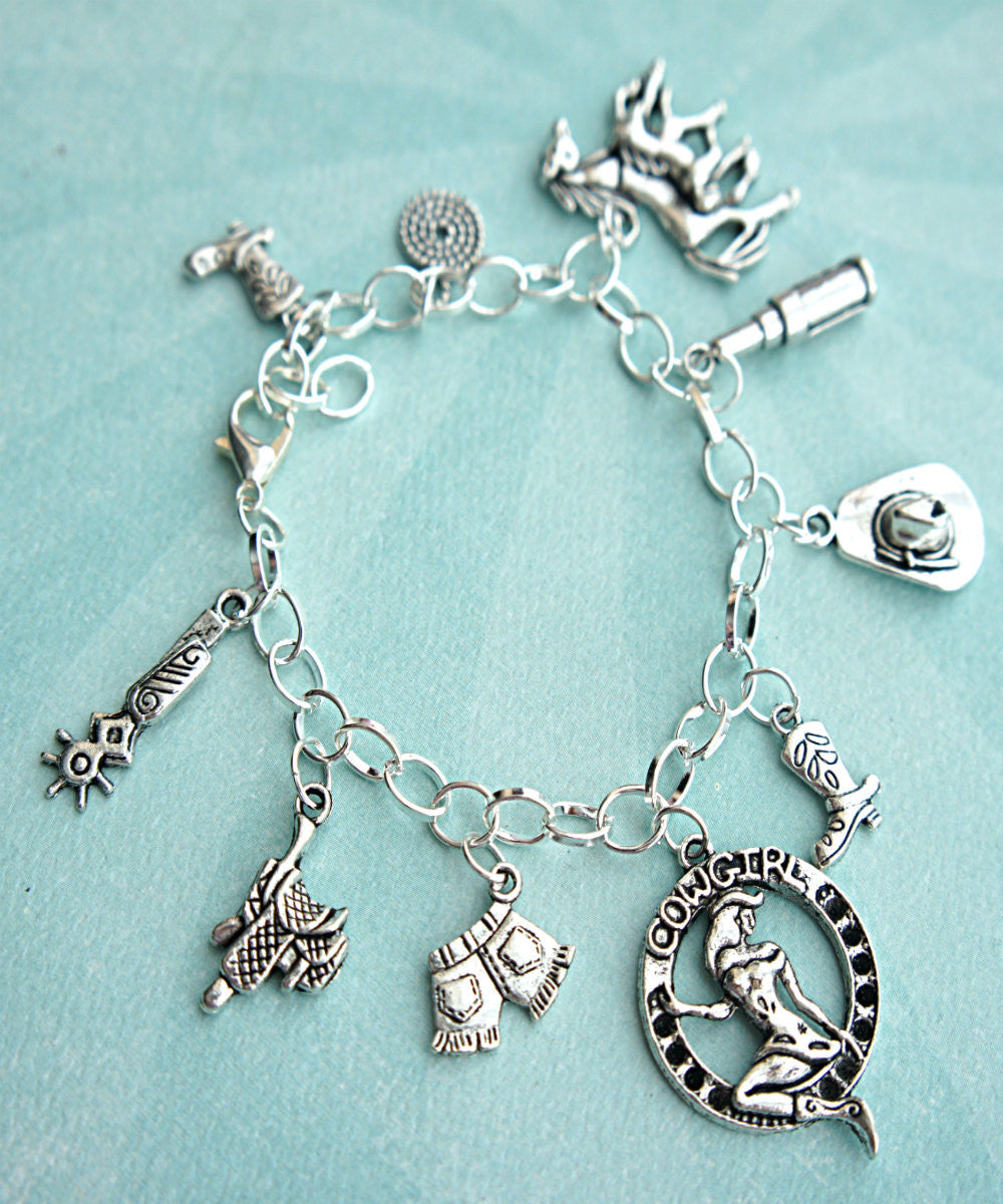 cowgirl charm bracelet - Jillicious charms and accessories - 4