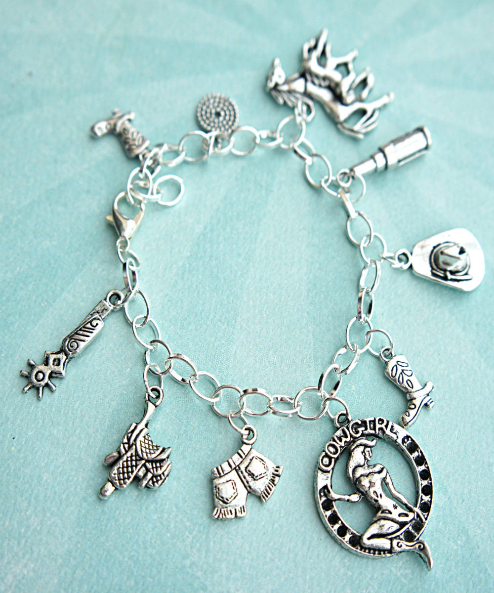 cowgirl charm bracelet - Jillicious charms and accessories - 2