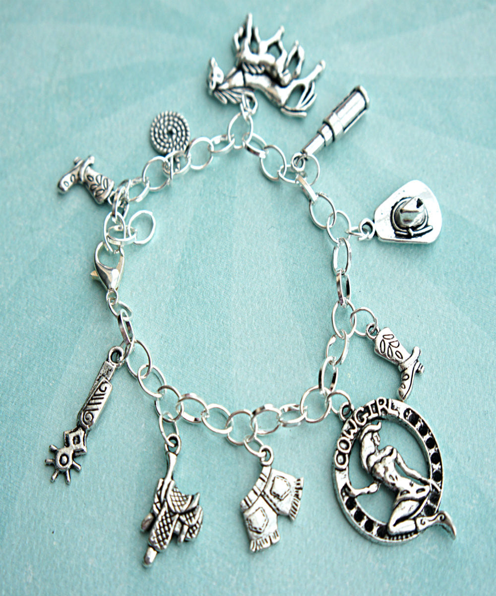 cowgirl charm bracelet - Jillicious charms and accessories - 3