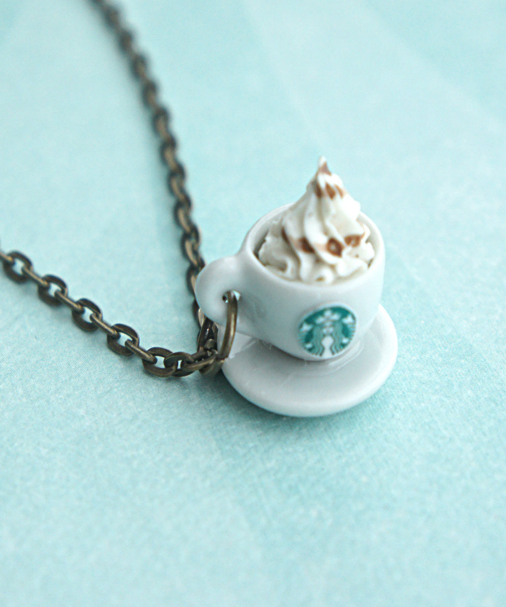 Starbucks Coffee Necklace - Jillicious charms and accessories - 2