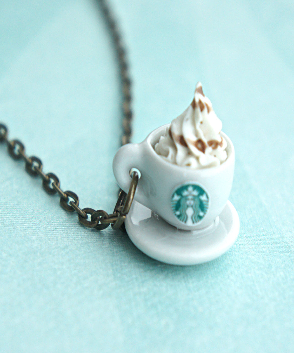 Starbucks Coffee Necklace - Jillicious charms and accessories - 1