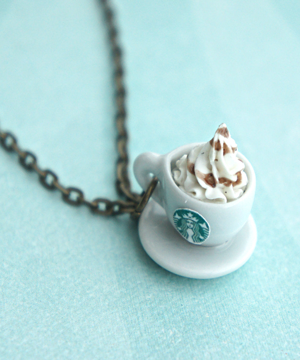 Starbucks Coffee Necklace - Jillicious charms and accessories - 3