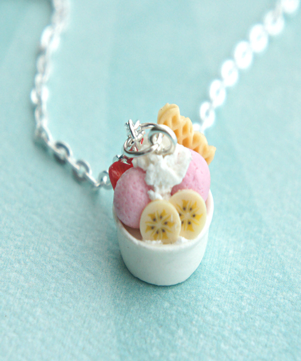 frozen yogurt necklace - Jillicious charms and accessories - 1