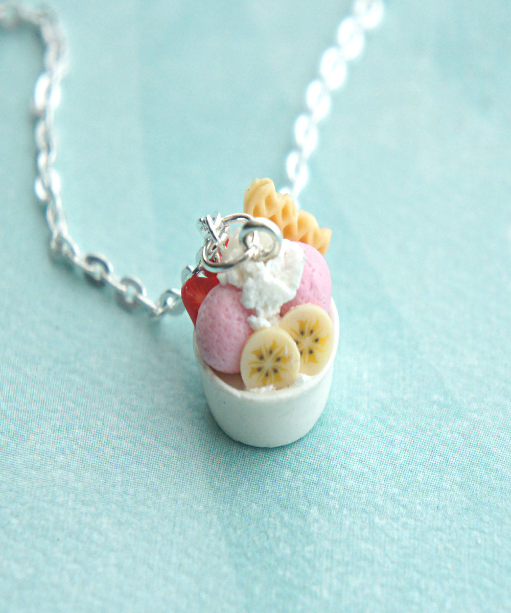 frozen yogurt necklace - Jillicious charms and accessories - 2