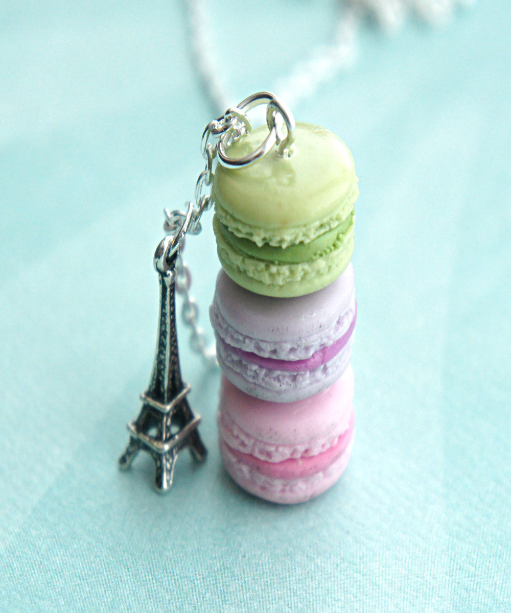 french macarons necklace - Jillicious charms and accessories