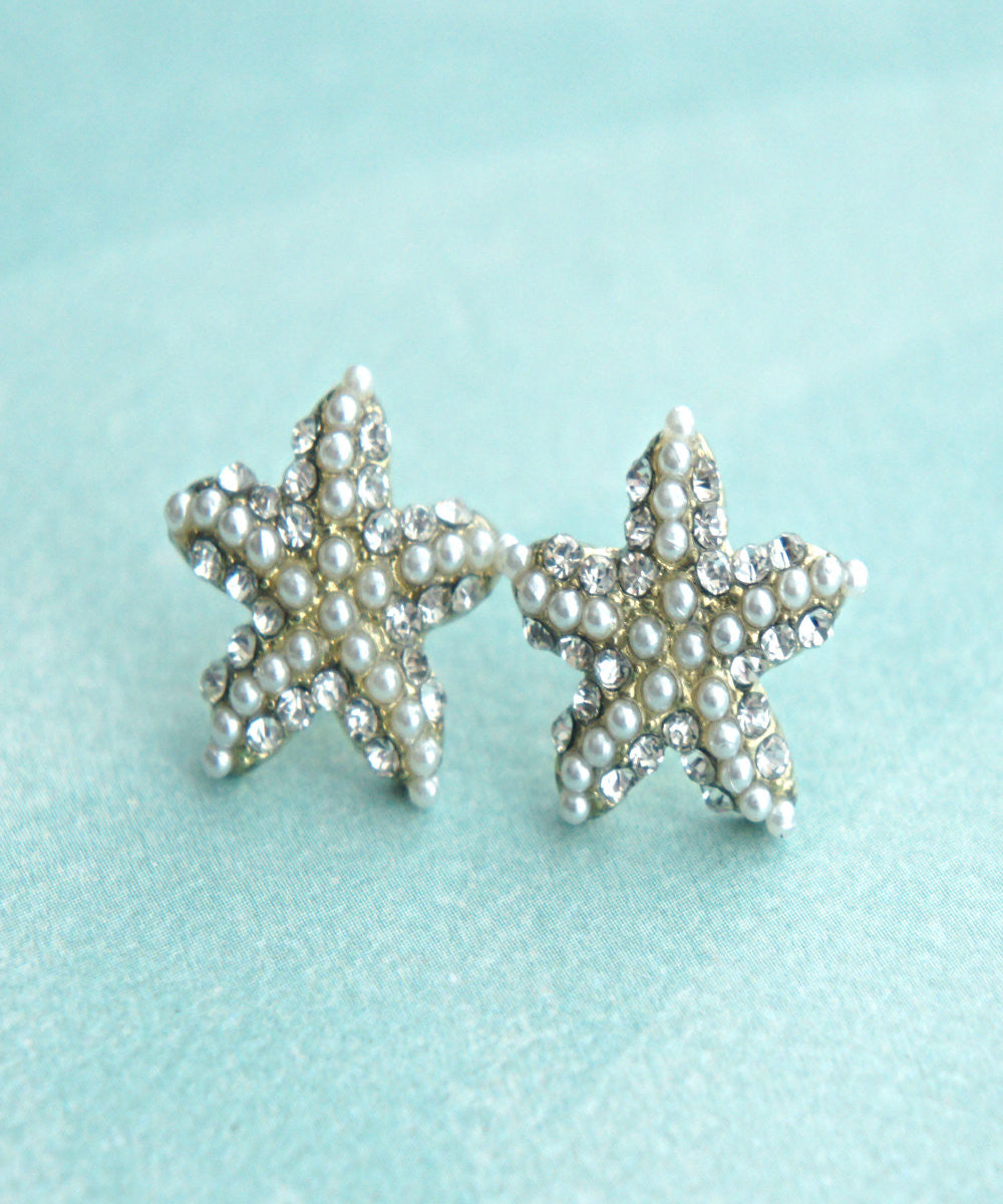 Starfish Stud Earrings - Jillicious charms and accessories - 1