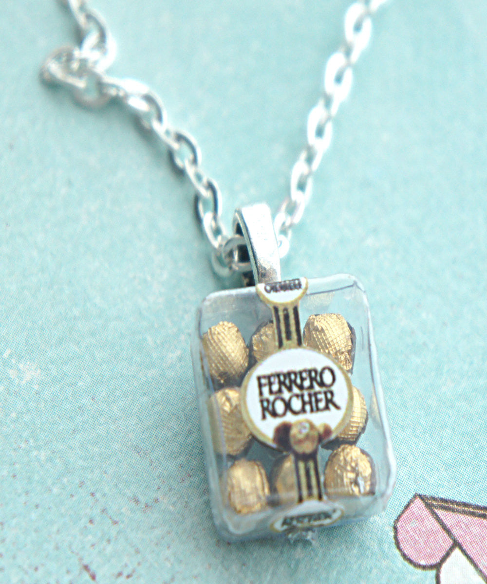 Ferrero Rocher Chocolates Necklace - Jillicious charms and accessories - 1